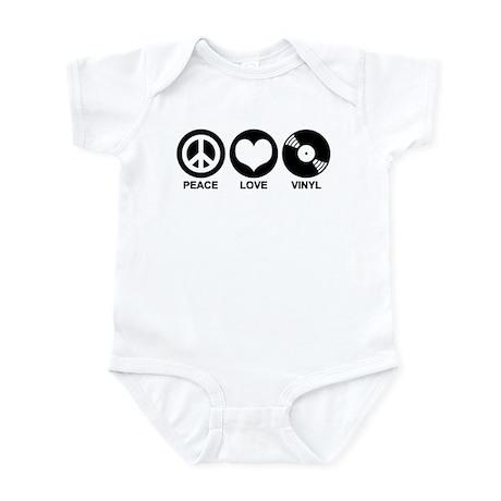 Peace Love Vinyl Infant Bodysuit