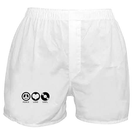 Peace Love Vinyl Boxer Shorts