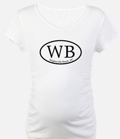 WB Wrightsville Beach Oval Shirt