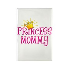 Princess Mommy Rectangle Magnet