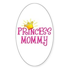 Princess Mommy Oval Decal