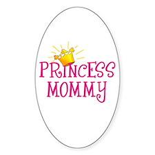 Princess Mommy Oval Sticker (10 pk)