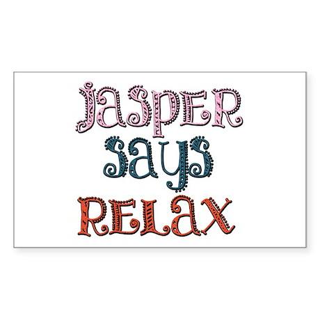 Twilight - Jasper Hale Rectangle Sticker