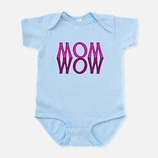 MOM upside down is WOW Infant Bodysuit