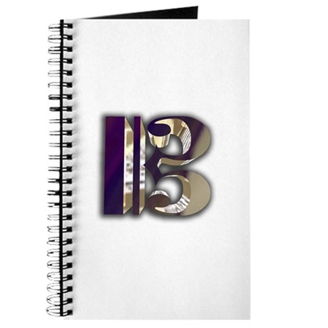 Bass Clef in Metal Journal