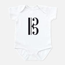 Alto Clef Alone Infant Bodysuit