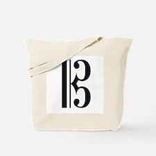 Alto Clef Alone Tote Bag