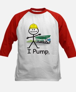 Concrete Pumping Kids Baseball Jersey