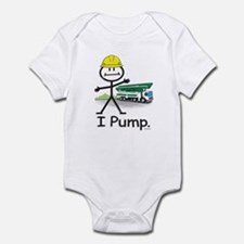 Concrete Pumping Infant Bodysuit