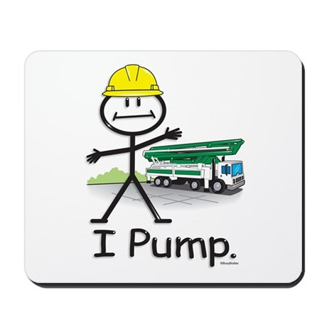 Concrete Pumping Mousepad