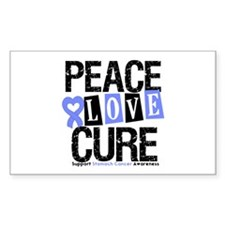 Stomach Cancer Cure Rectangle Decal