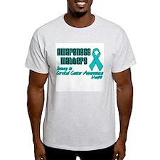 Cervical Awareness Matters T-Shirt