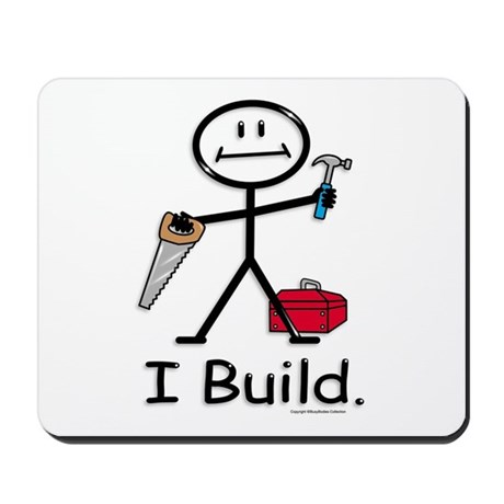 BusyBodies Construction Mousepad
