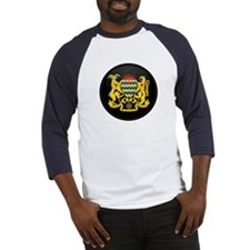 Coat of Arms of Chad Baseball Jersey