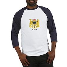 Chadian Coat of Arms Seal Baseball Jersey