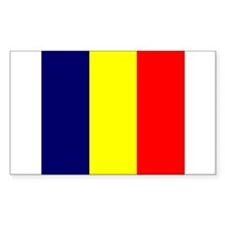 Chadian Rectangle Decal