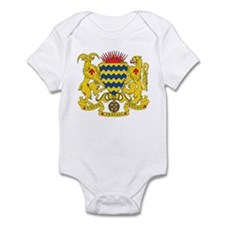 Chad Coat of Arms Infant Bodysuit