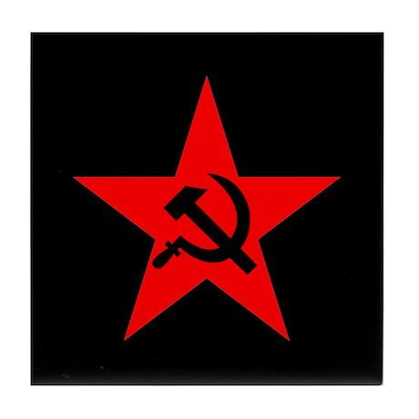Commie Tile Coaster