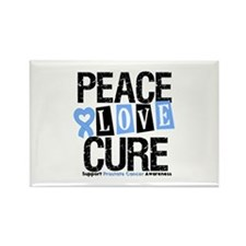 Prostate Cancer Cure Rectangle Magnet