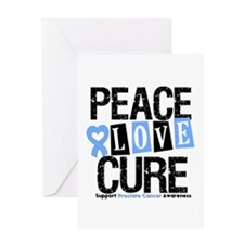Prostate Cancer Cure Greeting Card