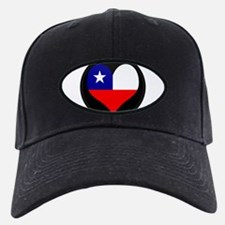 I love Chile Flag Baseball Hat