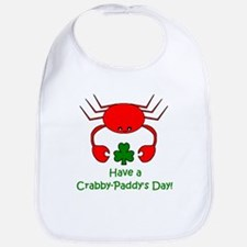 CRABBY PADDY'S DAY Bib