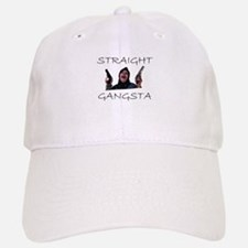 Straight Gangsta Baseball Baseball Cap