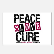 Multiple Myeloma Cure Postcards (Package of 8)