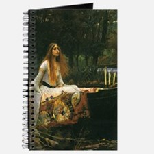 Lady of Shalott by JW Waterhouse Journal