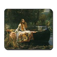 Lady of Shalott by JW Waterhouse Mousepad