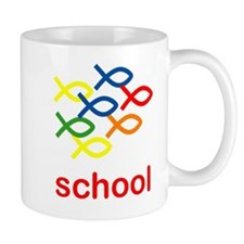 SCHOOL! For God Mug