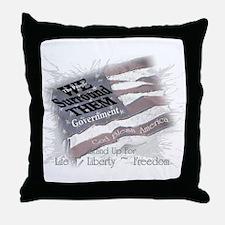 We Surround Them LLF Throw Pillow