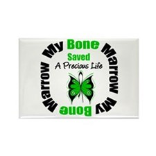MyBoneMarrowSavedaLife Rectangle Magnet