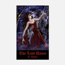 The Last Dance Rectangle Decal