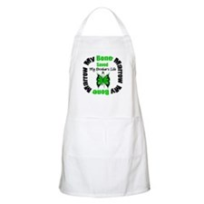 MyBoneMarrowSavedBrother BBQ Apron