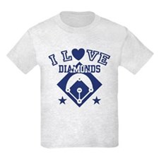 I Love Diamonds T-Shirt