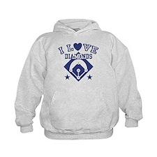 I Love Diamonds Hoodie
