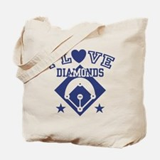 I Love Diamonds Tote Bag