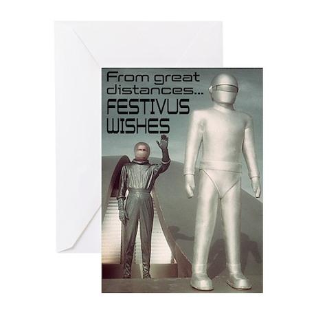 """FESTIVUS™ Greetings From Far Away"" Card"