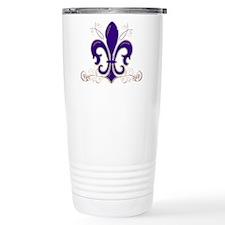 Fleur De Lis 3 Travel Coffee Mug