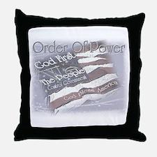 Order Of Power Throw Pillow