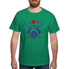 I Love Diamonds T-Shirt