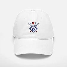 I Love Diamonds Baseball Baseball Cap