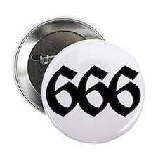 """666 2.25"""" Button"""