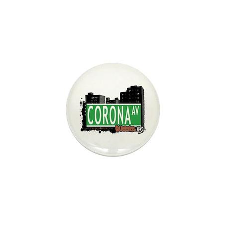 CORONA AVENUE, QUEENS, NYC Mini Button (10 pack)