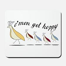 Get Hoppy Partridge Mousepad
