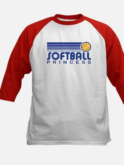 Softball Princess Kids Baseball Jersey