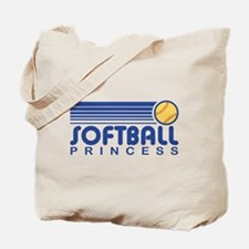 Softball Princess Tote Bag