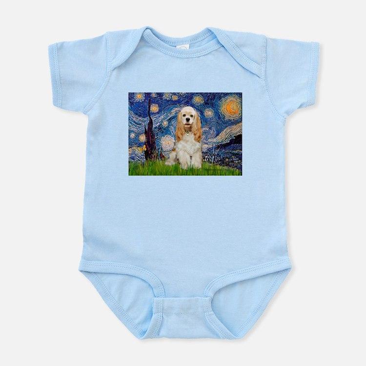 Starry / Cocker #1 Infant Bodysuit