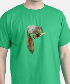 Squirrel Champagne T-Shirt